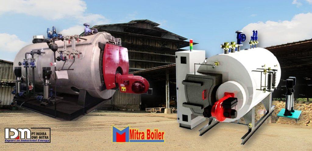 Steam Boiler hrztl