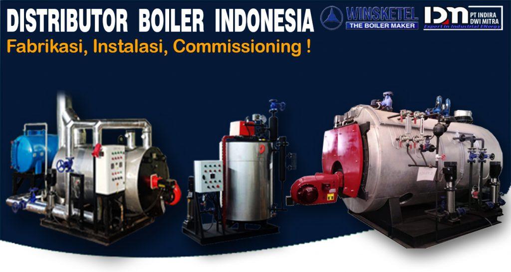 INDOINDUSTRI Mobile Jual Boiler firetube winsketel dan Thermal Oil Heater Gas LPG PGN CNG dan Solar